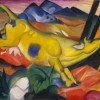 Franz Marc : Yellow Cow's Valentine's Day Connection