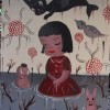Gary Baseman Paints Little Poet for Japan