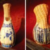 Daniel Hulsbergen Upcycles Two Traditions : Delft Blue & Baskets