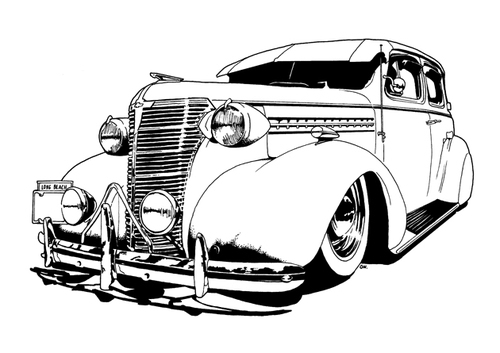 Hydraulic Car Coloring Pages : Mixing reality art creativity eco trends how they